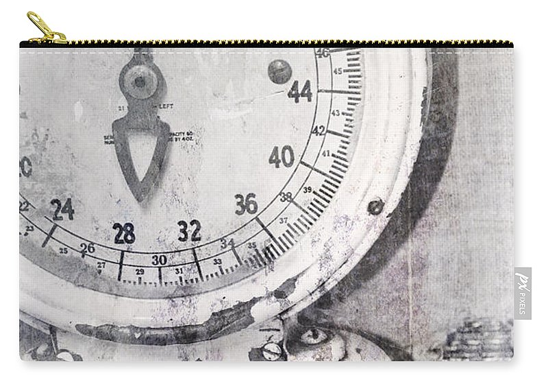 Scale Carry-all Pouch featuring the photograph Vintage Scale 2 by Traci Cottingham