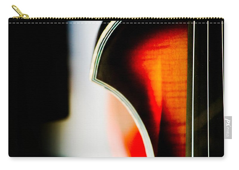Canon Carry-all Pouch featuring the photograph Violin by Hakon Soreide