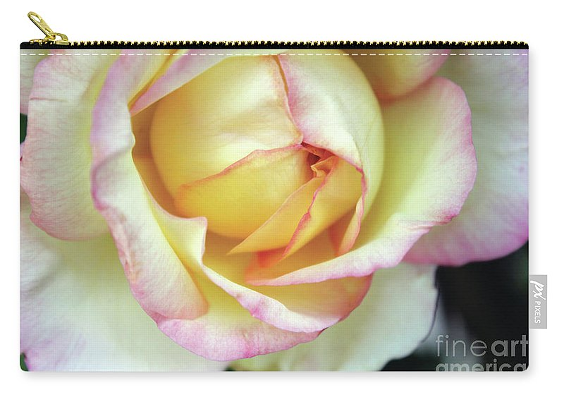 Flora Carry-all Pouch featuring the photograph Virgin Beauty by Alycia Christine