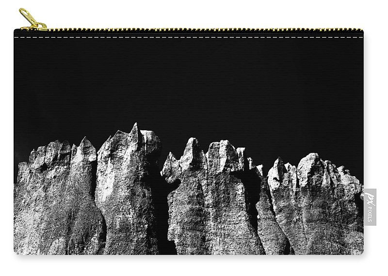 Photographs Framed Prints Carry-all Pouch featuring the photograph Voodooszz by The Artist Project