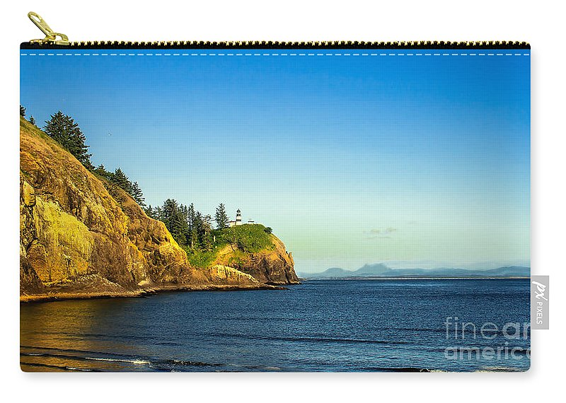 Lighthouse Carry-all Pouch featuring the photograph Waikiki Beach by Robert Bales