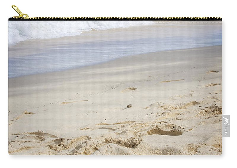 Beach Carry-all Pouch featuring the photograph Waimanalo 3 by Jessica Velasco