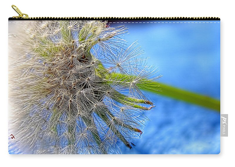 Weed Carry-all Pouch featuring the photograph Waiting For The Wind by Adam Vance