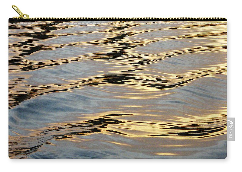 Lake Carry-all Pouch featuring the photograph Wake by Lizi Beard-Ward