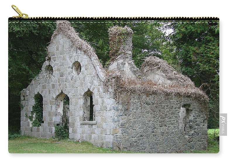 Friary Carry-all Pouch featuring the photograph Walls For The Winds by Charlie and Norma Brock