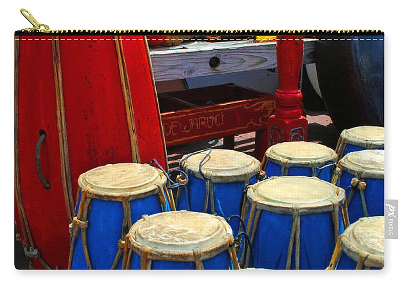 Walrus Carry-all Pouch featuring the photograph Walrus Drums by Jost Houk