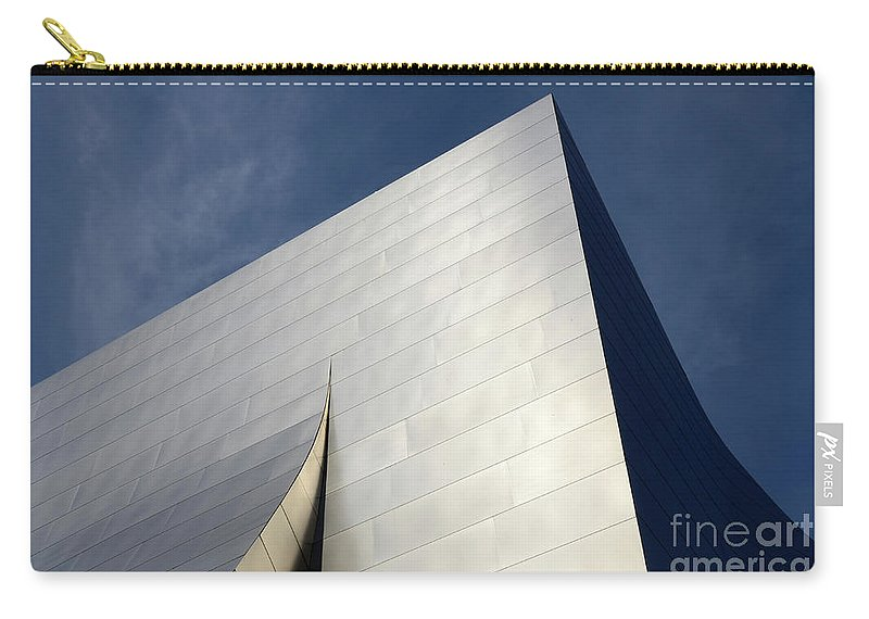 Disney Carry-all Pouch featuring the photograph Walt Disney Concert Hall 5 by Bob Christopher