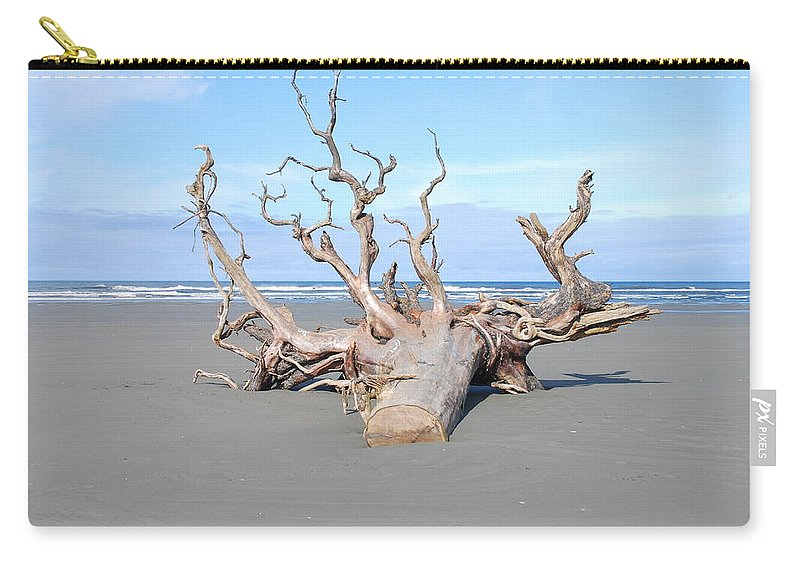 Beach Carry-all Pouch featuring the photograph Washed Up by Michael Merry