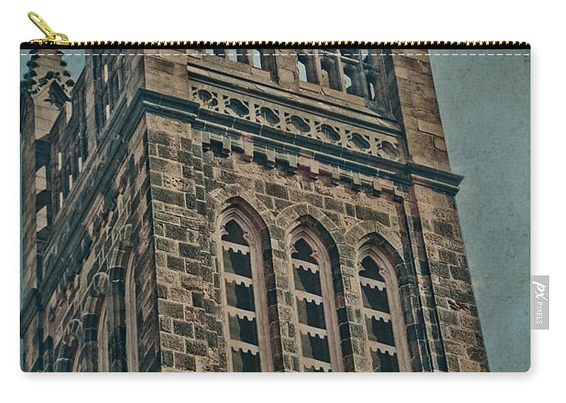 Church Carry-all Pouch featuring the photograph Washington Street by Trish Tritz