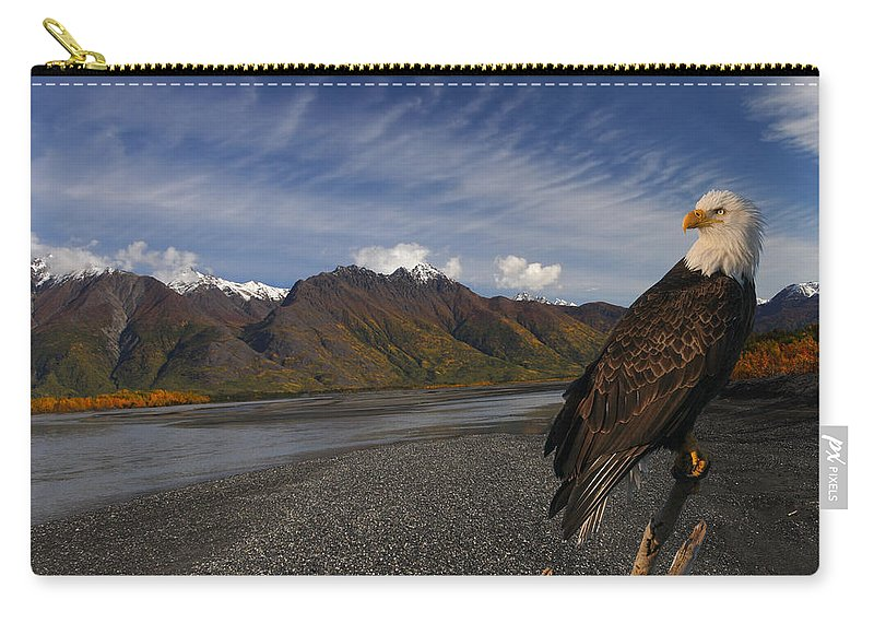 Doug Lloyd Carry-all Pouch featuring the photograph Watching by Doug Lloyd