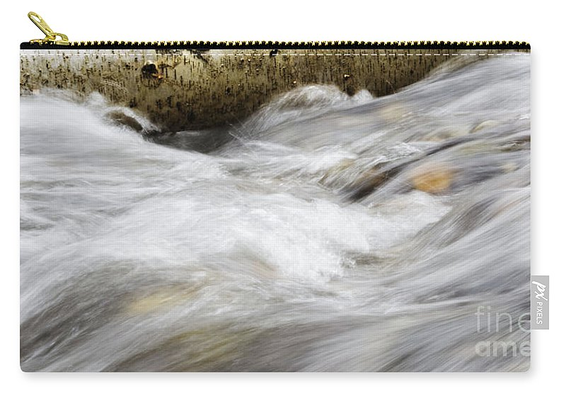 Water Carry-all Pouch featuring the photograph Water 2 by Janie Johnson
