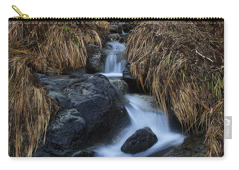 Doug Lloyd Carry-all Pouch featuring the photograph Water Art by Doug Lloyd
