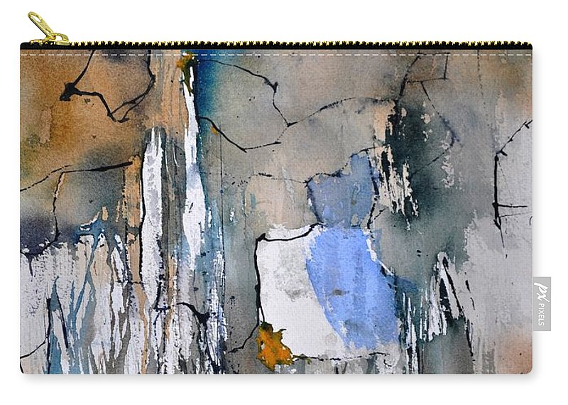 Abstract Carry-all Pouch featuring the painting Watercolor213030 by Pol Ledent