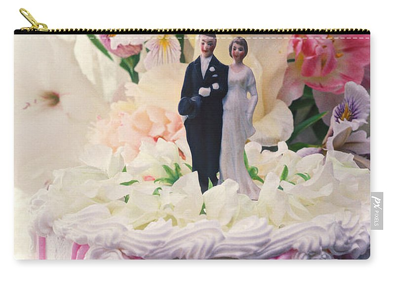 Wedding Carry-all Pouch featuring the photograph Wedding Cake by Garry Gay