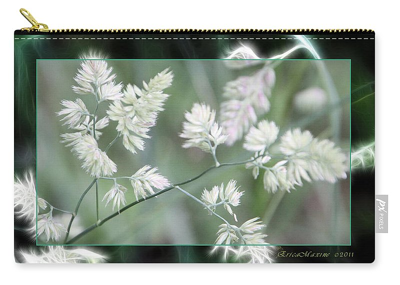 Weeds Carry-all Pouch featuring the photograph Weeds by Ericamaxine Price