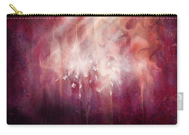 Landscape Carry-all Pouch featuring the digital art Weight of Glory by William Russell Nowicki