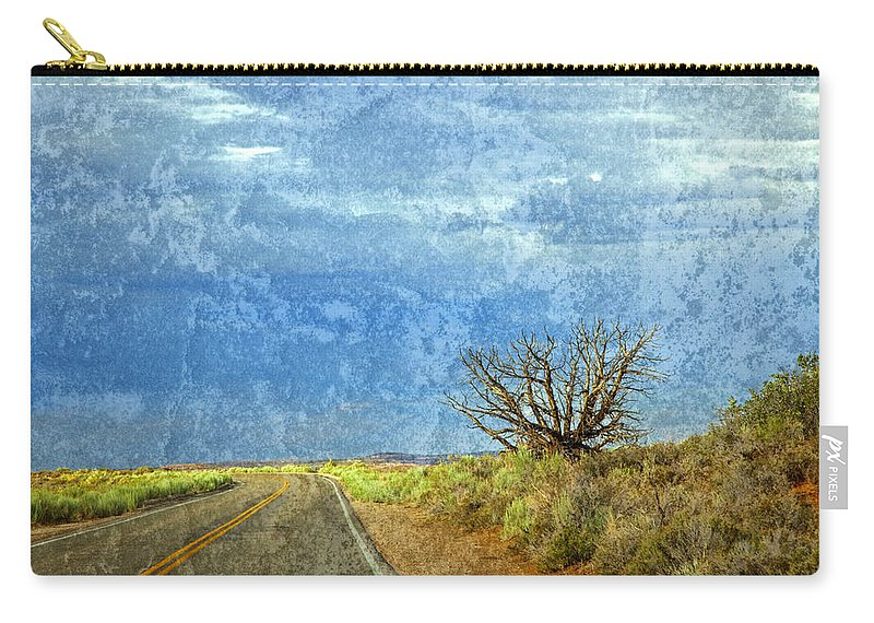 Arches National Park Carry-all Pouch featuring the photograph Welcome To The Magic Of Arches National Park by John Stephens