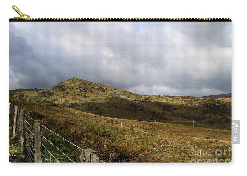 Wales Carry-all Pouch featuring the photograph Welsh Landscape I by Christiane Schulze Art And Photography