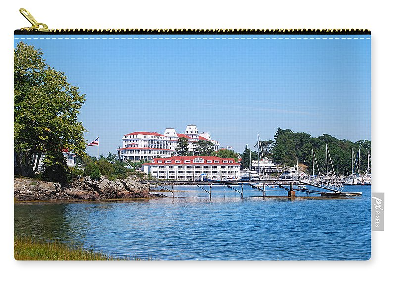 Wentworth Carry-all Pouch featuring the photograph Wentworth By The Sea Wbsp by Jim Brage