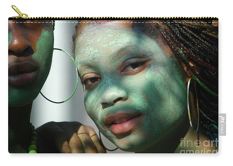 Parade Carry-all Pouch featuring the photograph West Indian Day Parade Brooklyn Ny by Mark Gilman