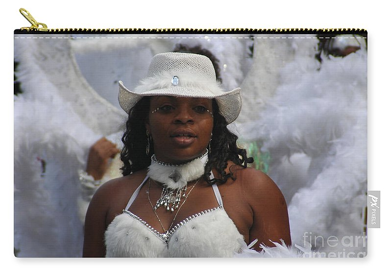 Parades Carry-all Pouch featuring the photograph West Indian Parade Brooklyn Ny by Mark Gilman