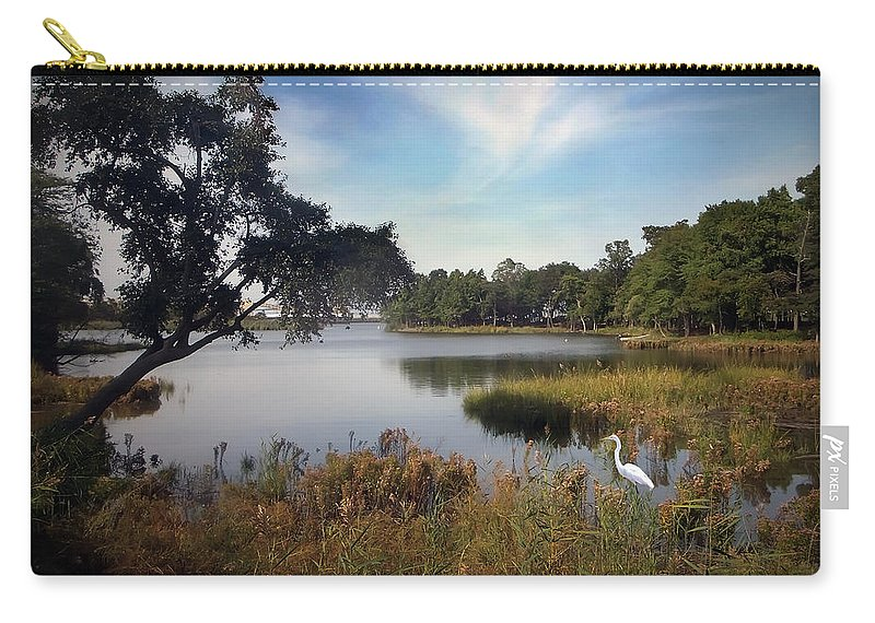 2d Carry-all Pouch featuring the photograph Wetlands by Brian Wallace