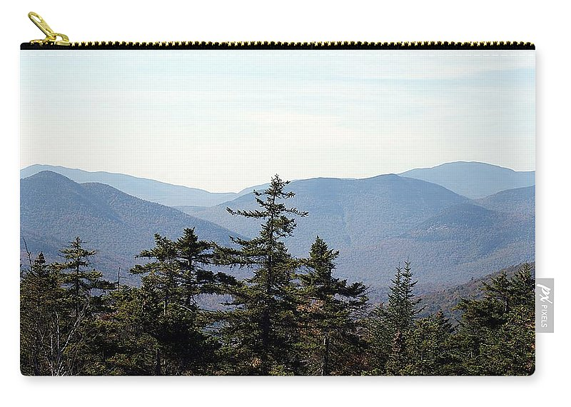 White Mountain Carry-all Pouch featuring the photograph White Mountain National Forest I by Joe Faherty