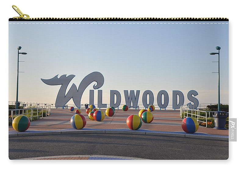 Wildwoods Carry-all Pouch featuring the photograph Wildwoods by Bill Cannon