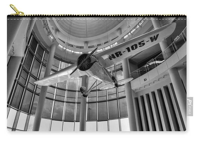 Winnie Carry-all Pouch featuring the photograph Winnie Mae II by Ricky Barnard