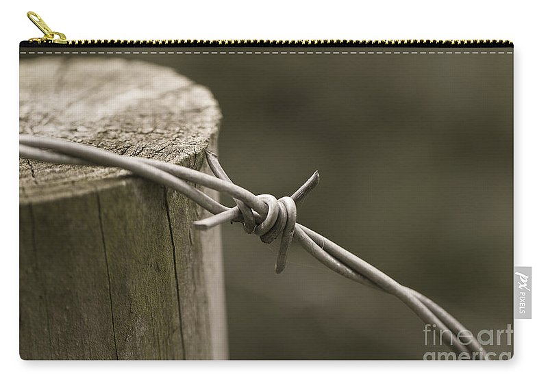 Clare Bambers Carry-all Pouch featuring the photograph Wired. by Clare Bambers