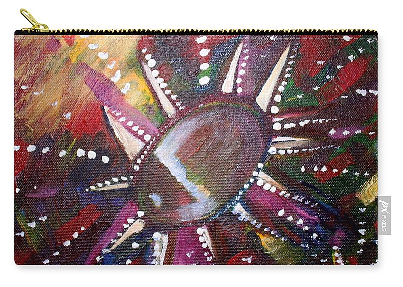 Carry-all Pouch featuring the painting Wish by Kate Fortin