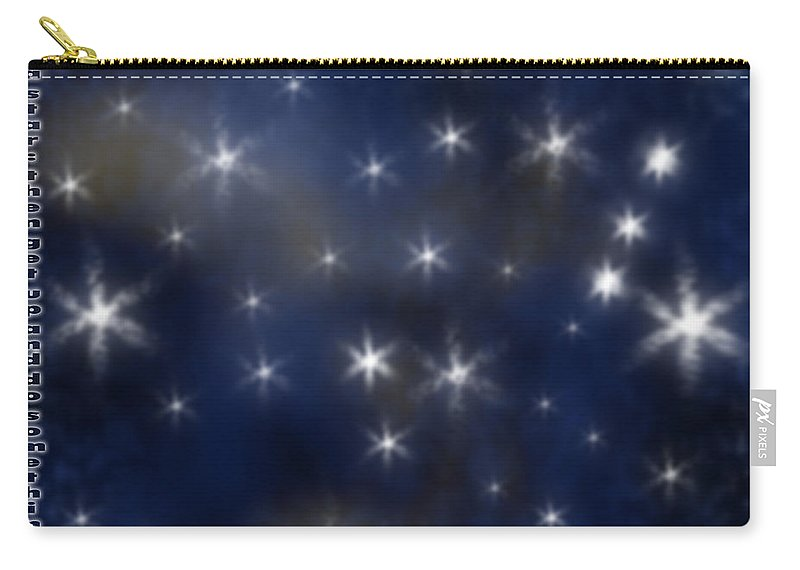 Clay Carry-all Pouch featuring the digital art Wish Upon A Star by Clayton Bruster