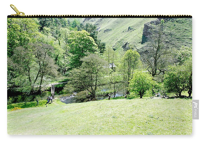 Countryside Carry-all Pouch featuring the photograph Wolfscote Dale From Gipsy Bank by Rod Johnson