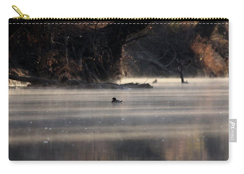 Http://travis-truelove.artistwebsites.com/galleries.html Carry-all Pouch featuring the photograph Wood Duck - On The Scenic Sucarnoochee River by Travis Truelove