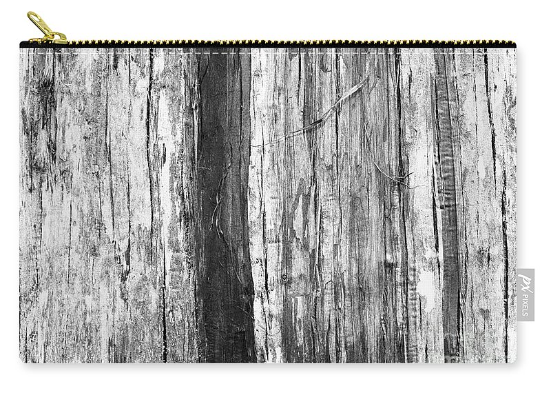 Wood Carry-all Pouch featuring the photograph Wood Texture by Gaspar Avila