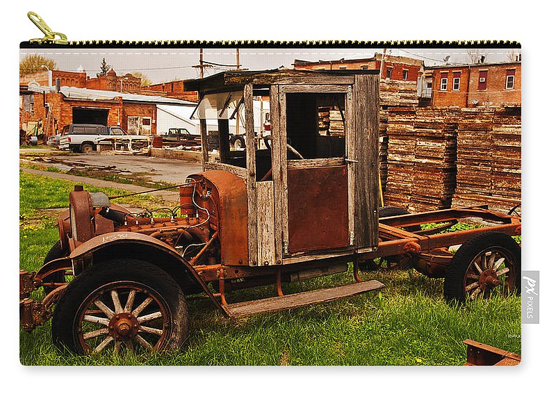 Barns Carry-all Pouch featuring the photograph Workhorse by Edward Peterson