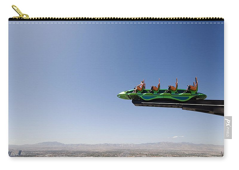 X-scream Carry-all Pouch featuring the photograph X Scream Las Vegas by Jessica Velasco