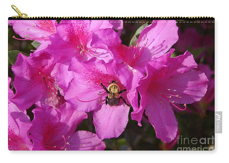 Azalea Carry-all Pouch featuring the photograph Yum by Priscilla Richardson