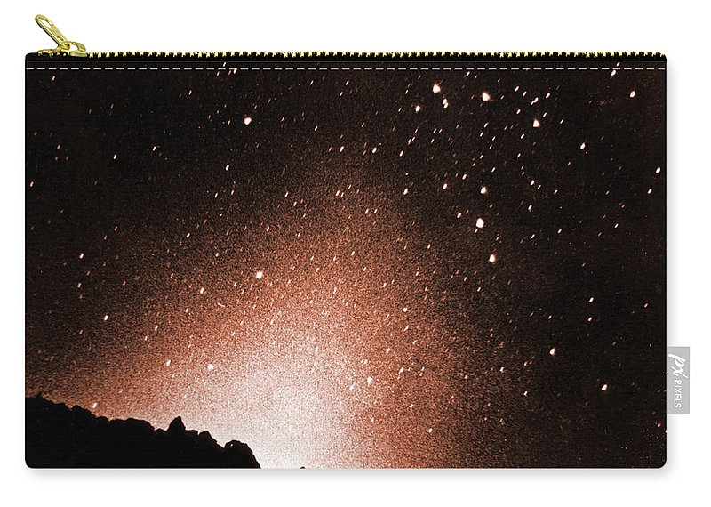 Zodiacal Light Carry-all Pouch featuring the photograph Zodiacal Light by Omikron/NASA