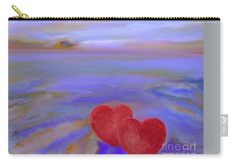 Photography Carry-all Pouch featuring the photograph Cormorants by Aline Halle-Gilbert