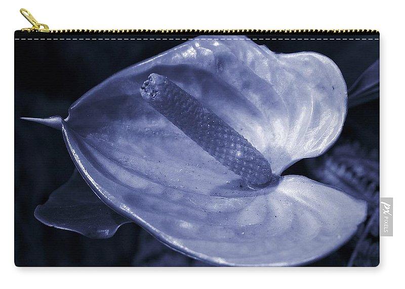 Lehtokukka Carry-all Pouch featuring the photograph Boy Flower by Jouko Lehto