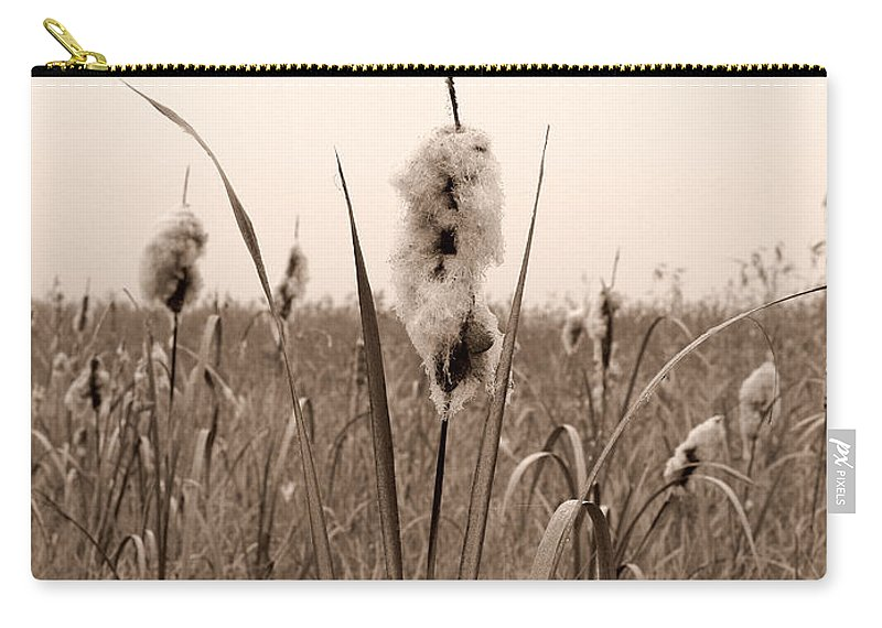 Lehtokukka Carry-all Pouch featuring the photograph Broadleaf Cattail 1 by Jouko Lehto