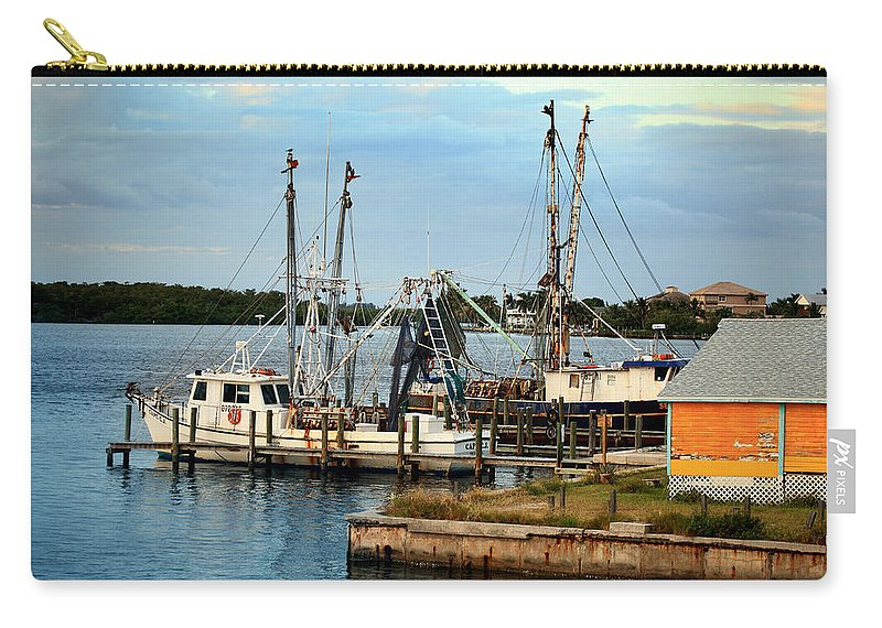 Matlacha Carry-all Pouch featuring the photograph Matlacha Florida by Joseph G Holland
