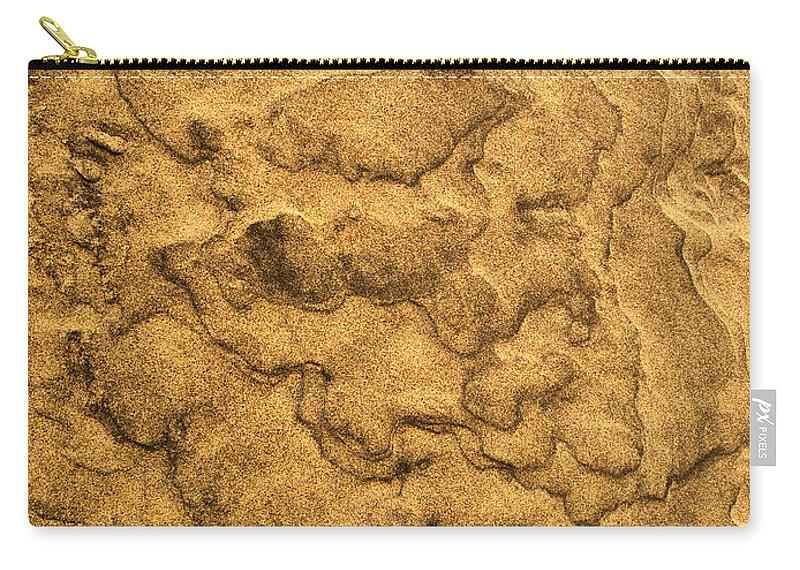 Lehtokukka Carry-all Pouch featuring the photograph Sand Map by Jouko Lehto