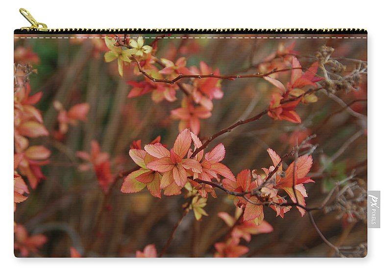 Gardens Carry-all Pouch featuring the photograph Spirea 1280 by Guy Whiteley
