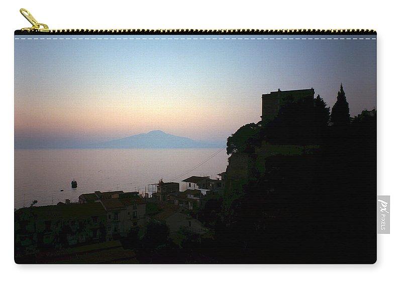 Lehtokukka Carry-all Pouch featuring the photograph Vesuvius View by Jouko Lehto