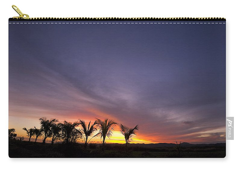 Romantic Carry-all Pouch featuring the photograph ... W Palmach by Pierre Logwin
