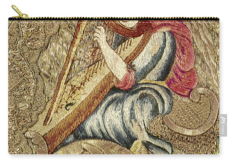 18th Century Carry-all Pouch featuring the painting Chasuble, 18th Century by Granger