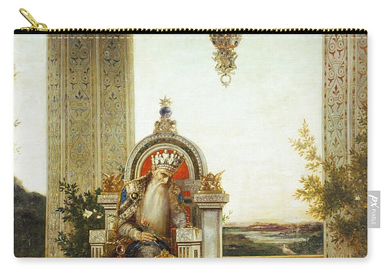 19th Century Carry-all Pouch featuring the painting Moreau: King David by Granger