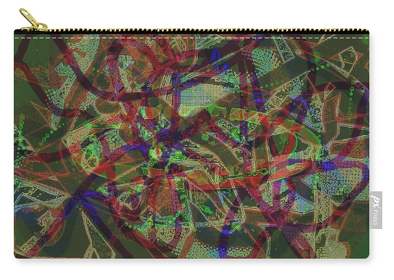 Jgyoungmd Carry-all Pouch featuring the digital art 01714 by Jgyoungmd Aka John G Young MD